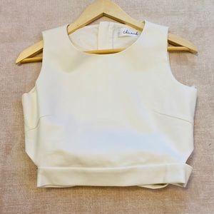 Chicwish sleeveless crop top